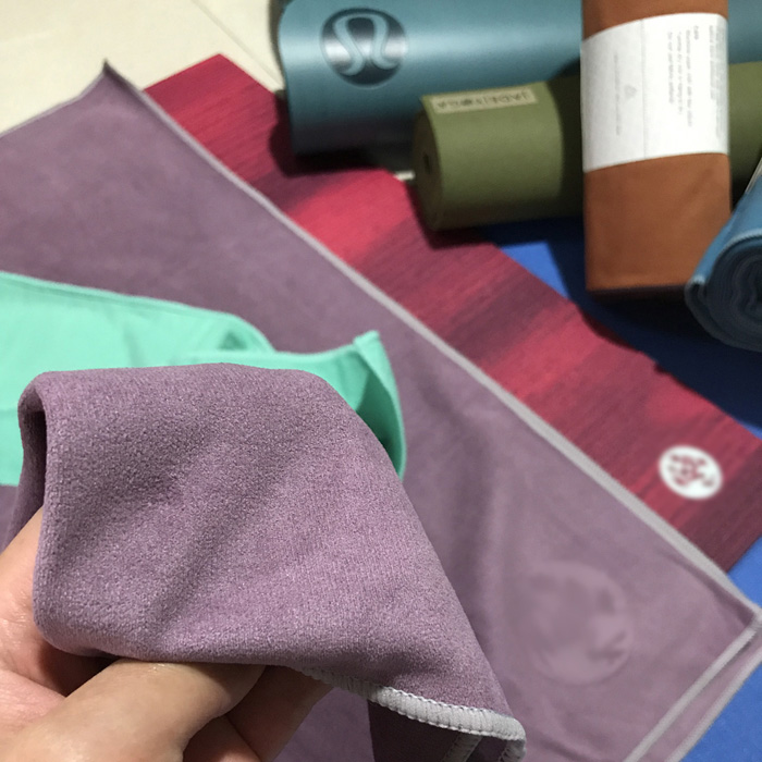 Yoga Towel Function: EQua Sueded Yoga Towel