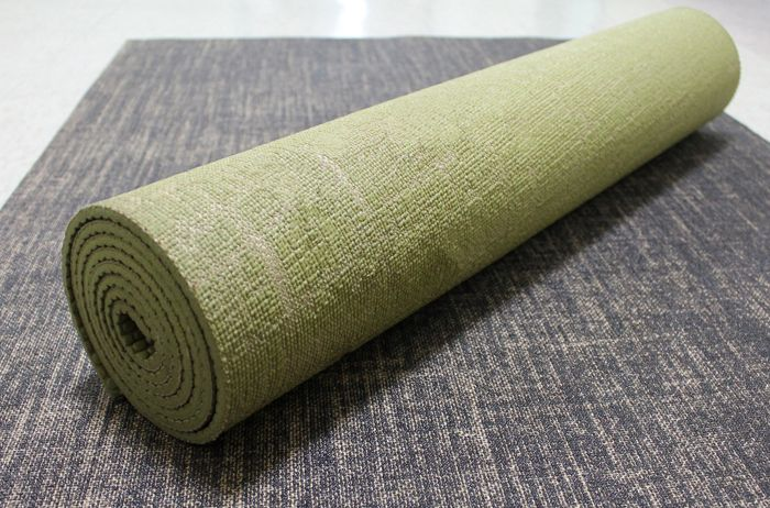 Eco Jute Yoga Mat Per Blended With Biodegradable Jute Fiber