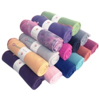 Premium skidless yoga towel